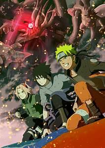Naruto Shippuden Completa En Hd Dvd Cap Del 001 Al 500
