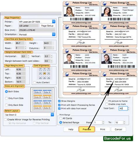 screenshots  mac id card design software  design id