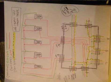 Shop Lighting Wire Diagram Help Doityourself