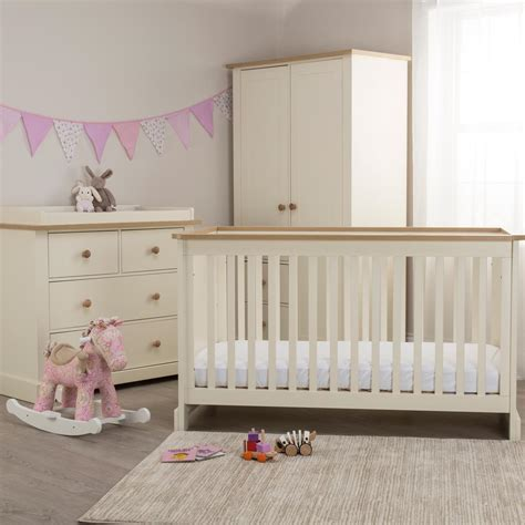 acorns roomset cot bed with dresser and