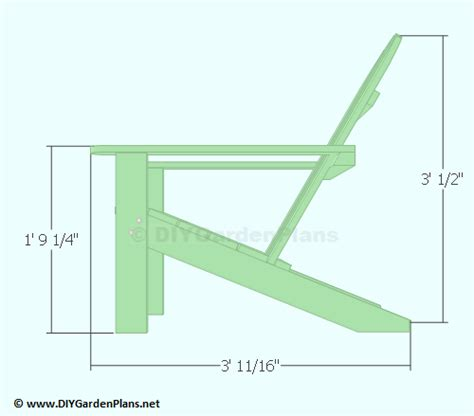 adirondack chair plans with 2x4 pdf woodworking