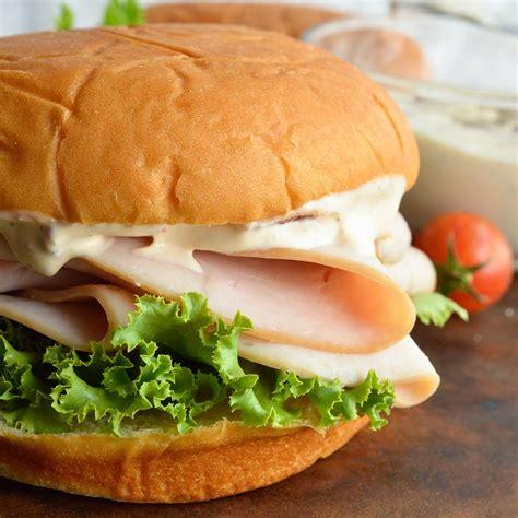 turkey sandwich turkey sandwich with chipotle ranch dressing