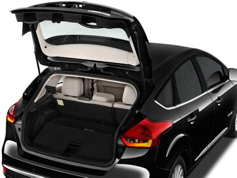 image  ford focus electric hatch trunk size