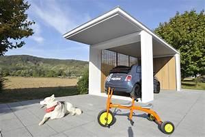 Garage Mit Carport : kemmler garage fertiggaragen garagen carports ~ Orissabook.com Haus und Dekorationen