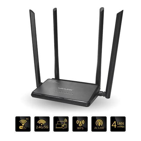 1200mbs wifi repeater router ap dual band ac1200 wireless