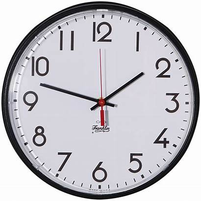Clock Analog Face Wall Frame Battery Operated
