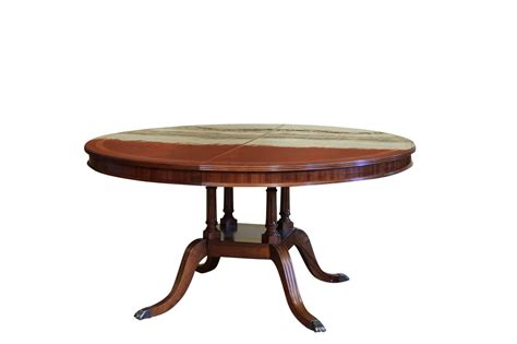 round tables with leaf extensions round to oval mahogany dining table with leaf 60 round