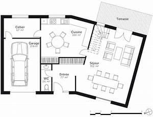 plan maison en v a etage ooreka With plan maison en v avec etage