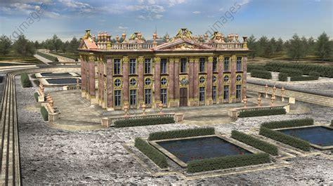 akg images ch 226 teau de marly circa 1690 3d reconstruction