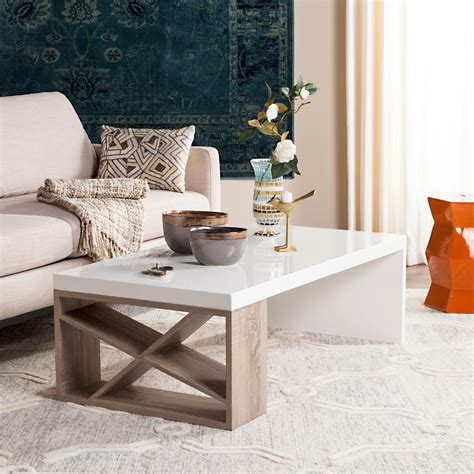 This is why a coffee table with storage comes as a rescue for a lot of people who do not find space to keep the the wood used in making this kind of coffee table are generally lighter than other types of wood options and there will. Safavieh Anwen Mid Century Geometric Wood Light Gray Coffee Table-FOX4250A - The Home Depot