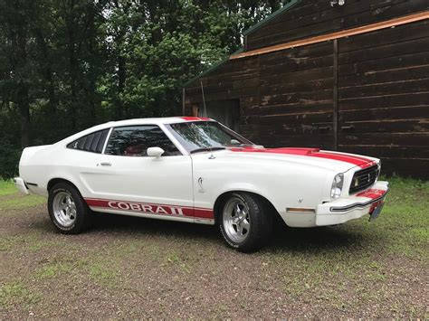 77 Mustang For Sale by 1977 Ford Mustang Ii Cobra For Sale Classiccars Cc