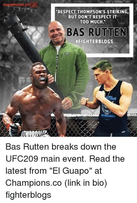 Bas Rutten Meme - 25 best memes about bas rutten bas rutten memes