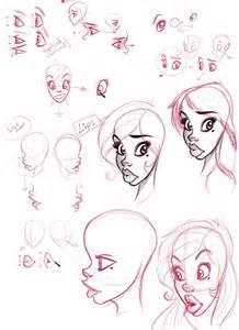 Girl Female Characters Cartoon Drawings
