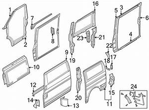 1999 Volkswagen Eurovan Tail Light Pocket  Corner Panel