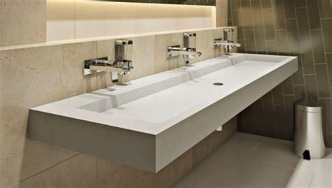 bathroom sink bathroom trough style sink Industrial