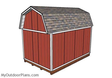 10x16 barn shed roof plans myoutdoorplans free