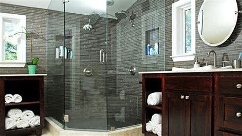 masculine  feminine bathrooms    powder rooms