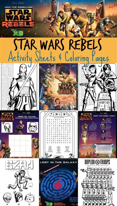 star wars rebels activity pack  homeschool deals
