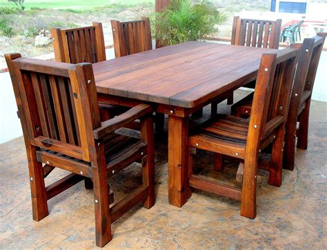outdoor furniture table and chairs wood outdoor tables a brief history of wood dowels