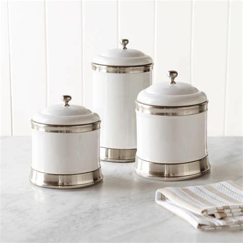 Williams Ceramic Canisters, Set Of 3  Williams Sonoma