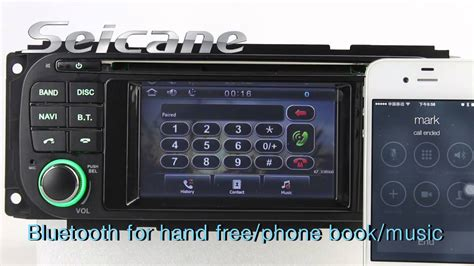 chrysler town country aftermarket radio stereo