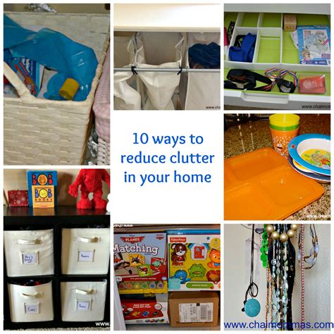10 Ways To Reduce Clutter In Your Home  Chai Mommas