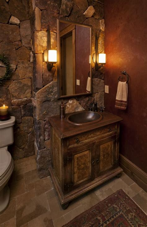 Rustic Bathroom Decor by 25 Inspiring And Echanting Rustic Bathroom Decor Ideas