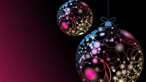 Merry Christmas Ornaments 1600x900 Wallpaper