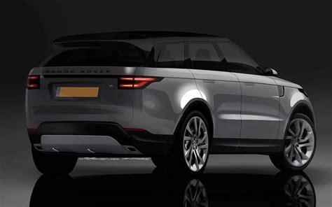 2019 Range Rover Evoque Rear High Resolution Images Best