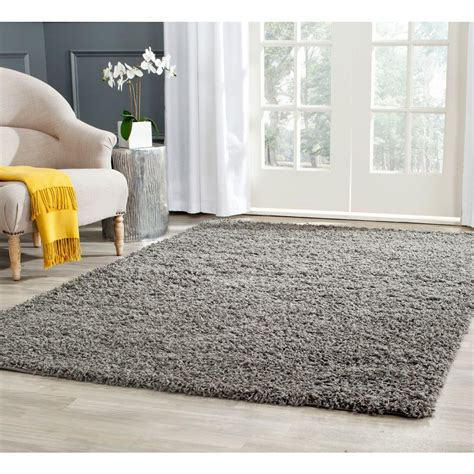 4163 patterned bath rugs safavieh athens shag gray 5 ft 1 in x 7 ft 6 in