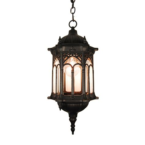lantern pendant light black etoplighting rococo collection oil rubbed matt black