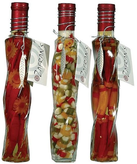 italian vinegar bottles decor kitchen inspiration