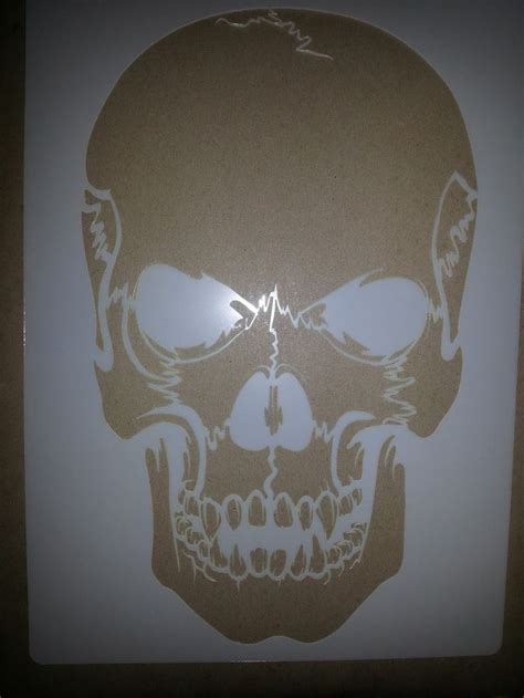skull stencil stencil patterns templates stencil templates
