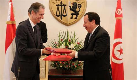 accord cadre de cooperation la tunisie et monaco signent un accord cadre de coop 233 ration webmanagercenter