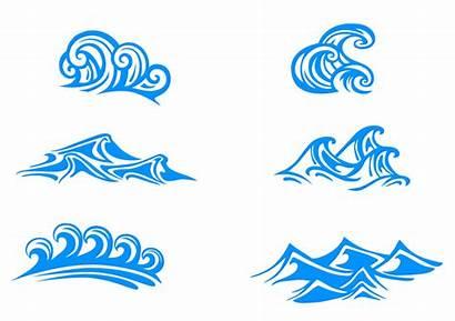 Waves Vector Graphics Wave Graphic Clipart Vectors