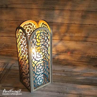 Cricut Lantern Maker Lampshade Luminaries Diy Blade