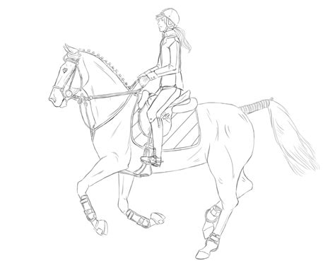 Paint Horse Coloring Pages Eskayalitim