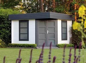 Gartenhaus Mit Flachdach : flachdach gartenhaus modell oregon 40 ~ Frokenaadalensverden.com Haus und Dekorationen