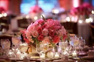 wedding centerpieces flowers pink wedding flowers for beautiful centerpieces ipunya