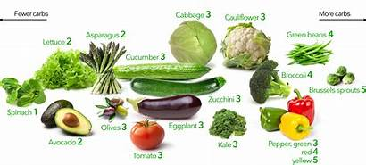 Keto Vegetables Ground Diet Carb Low Above