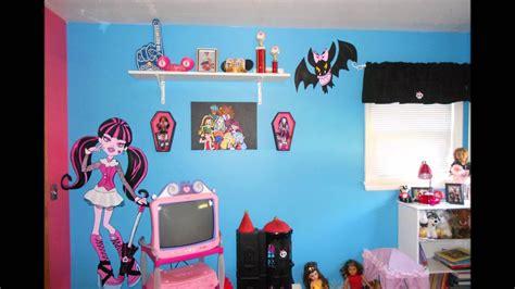 Monster High Bedroom Youtube