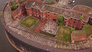 Drone Video Footage Shows Abandoned Plague Fort In Russia U0026 39 S St Petersburg