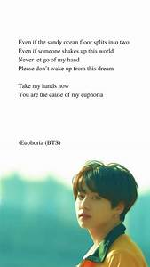 Euphoria by BTS... Bts Jungkook Quotes