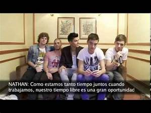 The Wanted - Interview on Antena3 (Spanish TV channel ...
