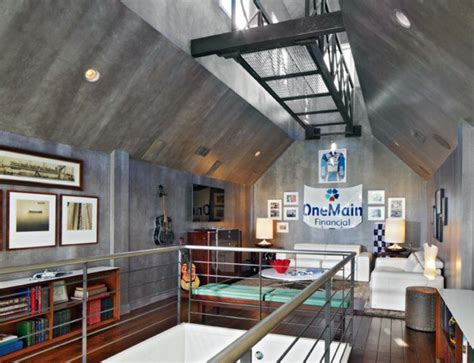 awesome man caves  men masculine interior design ideas