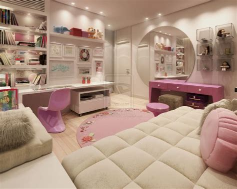 cool teen bedroom ideas that will your mind 35 cool teen bedroom ideas that will blow your mind 35 | Pink and white girl bedroom decor