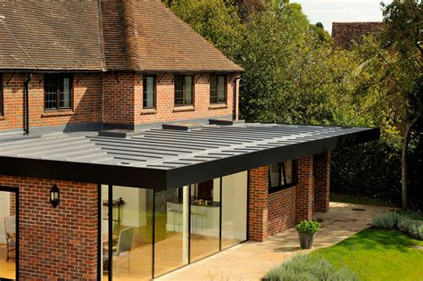 kitchen extension roof designs home extension single ply roofing installations roof assured 4747