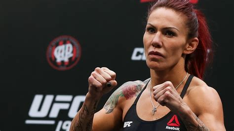 cris cyborg refutes report shes fighting  july