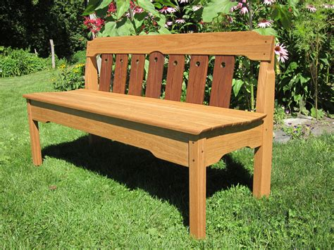 garden benches designed by vermont furniture makers