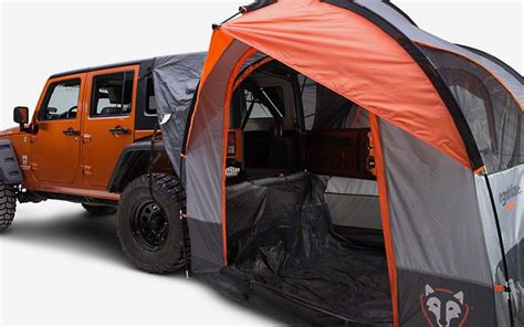 jeep cing gear rightline sportz suv tent best tent 2018